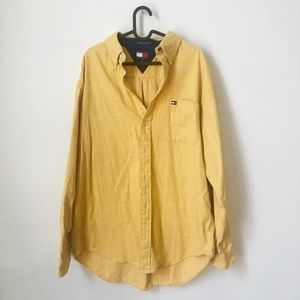 TOMMY Long Sleeve Button UP